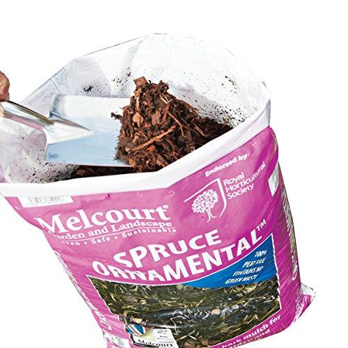 Melcourt Bark Mulch Spruce Ornamental   60L Bag   Versatile Mulch   Box