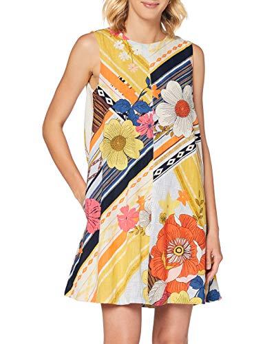 Derhy Damen CANARI Kleid, Gelb (Jaune 1), 38