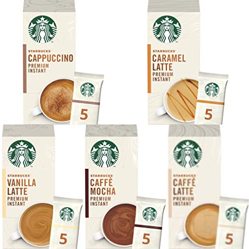 Starbucks Premium Instant Coffee ( 5 Sachets ) 3 Box Pick N Mix : 5 Flavours to Choose from