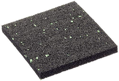 100 Stück 8 mm 90 x 90 mm Terrassenpad, Terrassenpads aus Gummi – Unterlagepads für die Unterkonstruktion ihrer Terrassen Balkon oder Gartenhütte