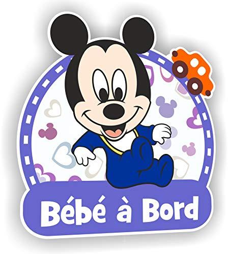 Sticker Bébé à Bord Mickey - Autocollant