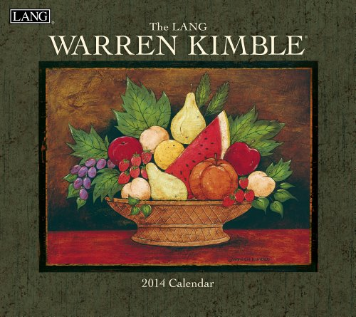 Lang Perfect Timing - Lang 2014 Warren Kimble Wall Calendar, 12 Month (Jan 2014- Dec 2014), 13.375 x 24 Inches (1001727)