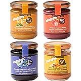 Zero Cal Stevia Dalia Gourmet - Composte di Frutta e Senza Aggiunta di Zuccheri (Dolcifica...