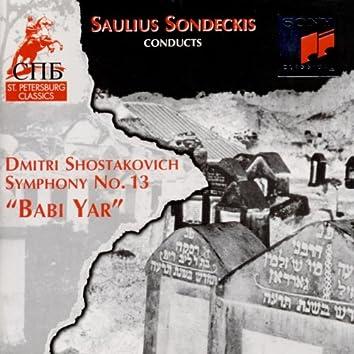 Symphony No. 13 (feat. Saulius Sondeckis) [Op. 113]