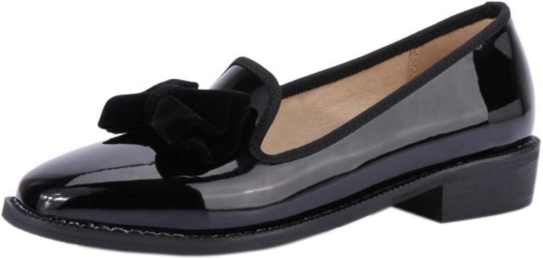 FizaiZifai Women Simple Loafers Pumps