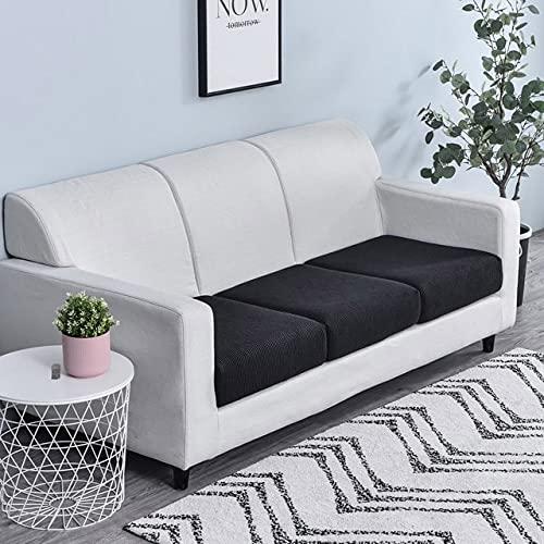 RichAmazon Sofa-Sitzkissen, elastisch, einfarbig, Haustier, Kindermöbel, Polar, Wolle, elastisch, abnehmbar, abnehmbar