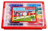 Feutre de coloriage - STABILO power - Schoolpack x 144 feutres pointe moyenne - 12 couleurs assorties