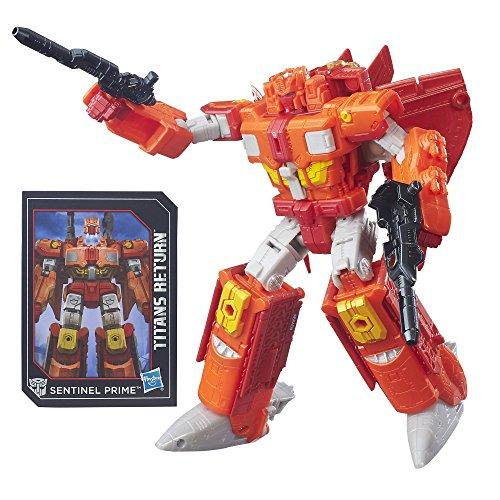 Transformers Generations Titans Autobot Infinitus and Sentinel Prime