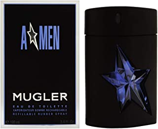 Thierry Mugler Angel EDT Refillable Rubber Spray for Men, 100 ml