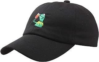 Kermit The Frog Sipping Tea Adjustable Strapback Cap Unisex Baseball Cap