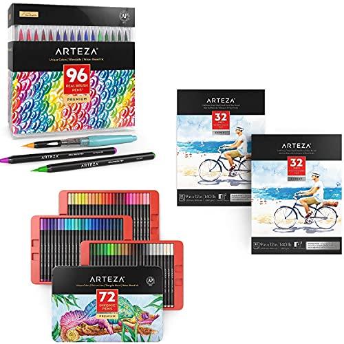 Arteza Professional Artist Bundle, Drawing Art Supplies for Artist, Hobby Painters & Beginners