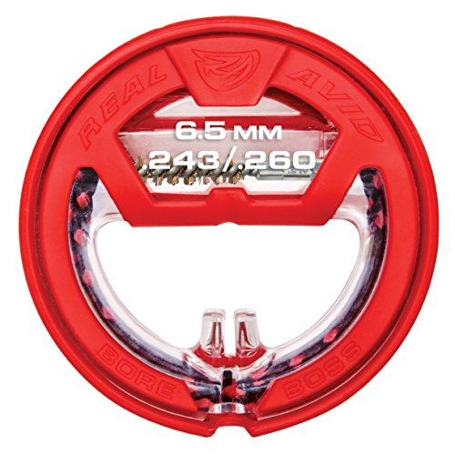 RealAvid Unisex-Adult REAL AVID Bore Boss .243 / .260, 6,5mm, red, no Size