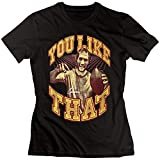 MQW PWlZ Women's Kirk Cousins You Like That Icon T-Shirt Black(Size:L