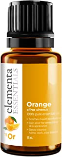 Orange Essential Oil - 100% Pure Therapeutic Grade 15ml (Young Living) For Energy Mood and Household Use