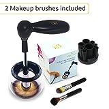 Limpiador Brochas Maquillaje   Kit de Limpieza en Seco Para Cepillos Profesional   2 Brochas...