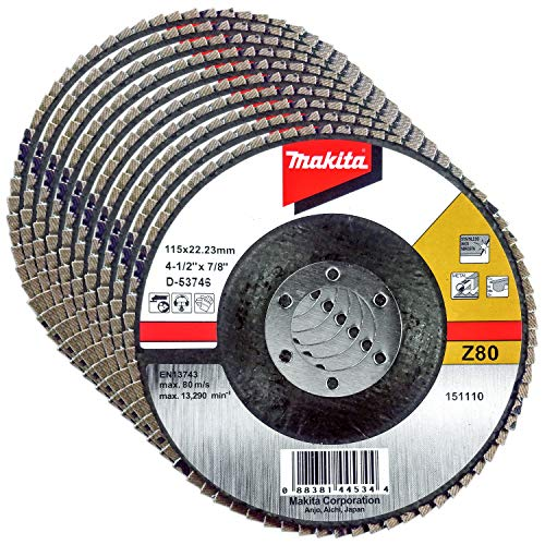 MAKITA D-53746 D-53746-Disco mil Hojas 115(g80) Metal, Negro
