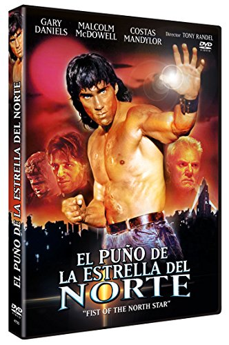El Puño de la Estrella del Norte Versión Uncut DVD 1995 Fist of the North Star