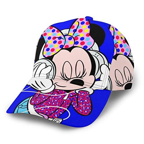 XIAODONG Gorra de béisbol de Mickey Mouse, diseño de...