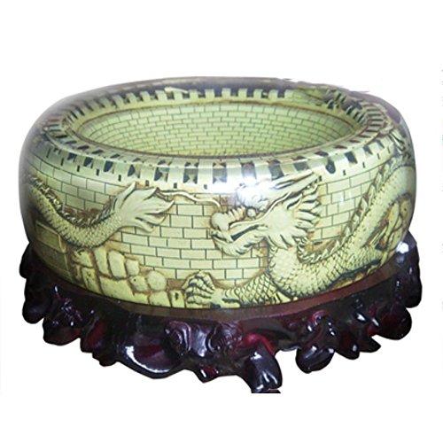 SQL Artesanías y regalos de empresa creativos de cenicero dragón cristal adornan regalos . c