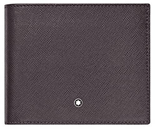 Montblanc MB Sartorial Wallet 8cc Cartera, Hombres, Bl (Azul), Talla Única