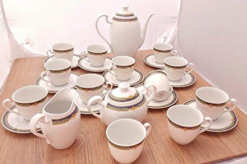 Servicio The Porcelana Weissestal Bavaria 15 piezas