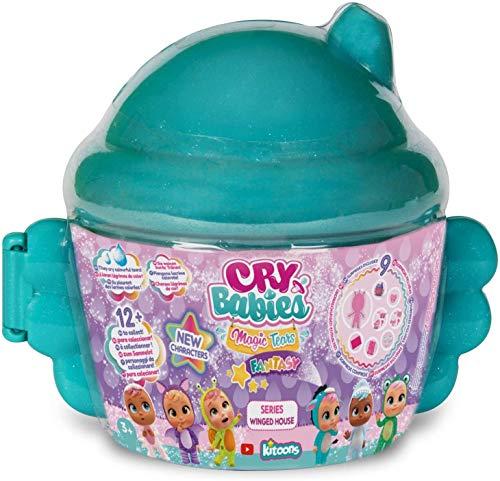 Cry Babies Magic Tears - Casita para alar verde, juguete 3 +