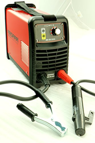 Absaar AB-ZX130G Elektroden Schweißgerät Inverter 130 Ampere, Rot