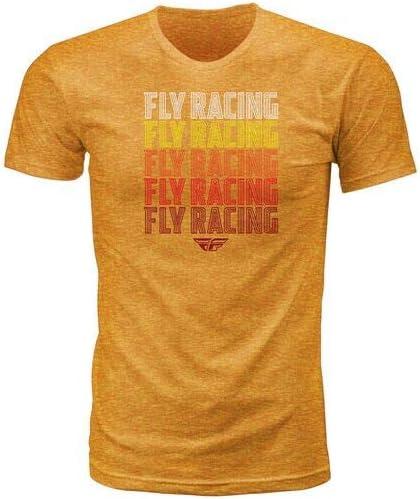Small Dark Grey Heather Fly Racing Nostalgia T-Shirt