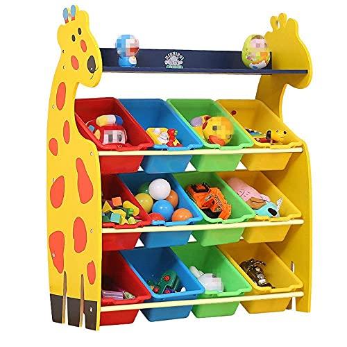 Caja de almacenamiento de juguetes para niños Estante de almacenamiento de acabado para niños: para organizar el almacenamiento de juguetes Juguetes para bebés Juguetes para niños Juguetes para perro