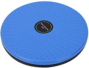 Twisting Waist Disc Bodytwister,Body Shaping Twisting Waist Machine Rotating Board Female Twister Sports Equipment (Blue)
