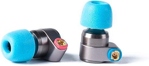 Tin Audio T2 HiFi IEM Auriculares de Doble Dinámico Sondeo 2DD Neutro HiFi Auricular Metal Auricular con Cable MMCX Desmontable (T2)