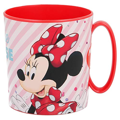 TAZA MICRO 350 ML | MINNIE MOUSE - DISNEY - ELECTRIC DOLL