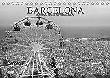 Barcelona Schwarz / Weiß Impressionen (Tischkalender 2022 DIN A5 quer): Fantastische Impressionen in schwarz / weiß der wunderbaren katalonischen Stadt Barcelona (Monatskalender, 14 Seiten )