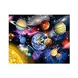 Wrubxvcd Planeta, sin Marco, Pintura al óleo Digital de DIY, de Acuerdo con Cifras, Lona