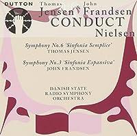 Nielsen: Symphony # 3, Symphony # 6, Modern by Ruth Guldbaek (2009-03-10)