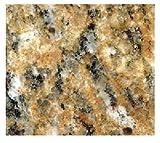 "EZ FAUX DECOR Instant Venetian Gold/Santa Cecilia Marble Granite Countertop Film Self Adhesive Vinyl Paper Laminate Counter Top Peel and Stick (36"" x 180"")"