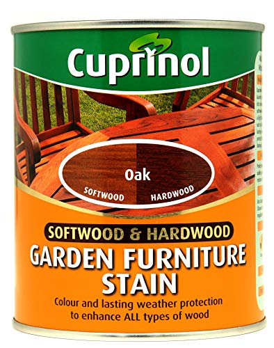 CUPRINOL 5158525 Garden Furniture Stain Exterior Woodcare, Oak