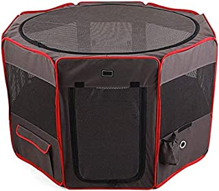 Pet Travel Carrier Cat Dog Delivery Room Removable Washable Kennel Octagon Fence Portable Tent Supplies Bag