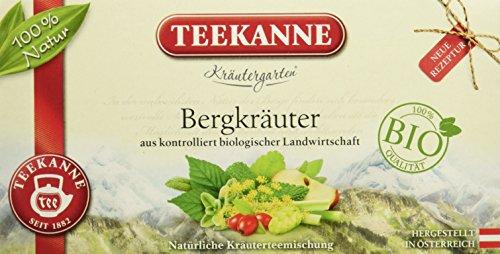 Teekanne Österreich Kräutergarten Bio Bergkräuter (36 g)