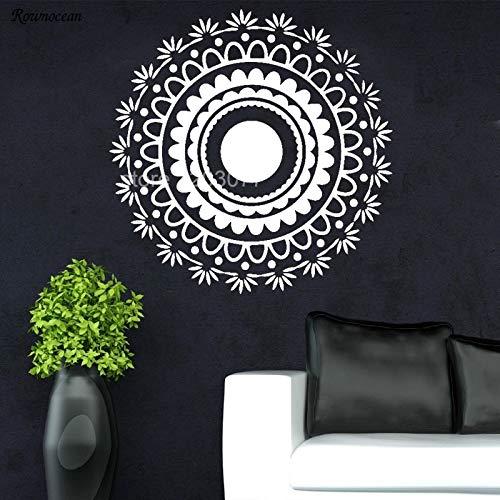 sanzangtang Muurstickers mandala applique mode slaapkamer decor bohemien ontwerp
