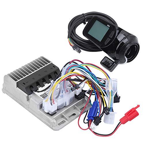 Redxiao 【𝐎𝐟𝐞𝐫𝐭𝐚𝐬 𝐝𝐞 𝐁𝐥𝐚𝐜𝐤 𝐅𝐫𝐢𝐝𝐚𝒚】 Controlador sin escobillas de Menor Consumo de Corriente, Controlador de triciclos eléctricos, Bicicleta eléctrica Auxiliar