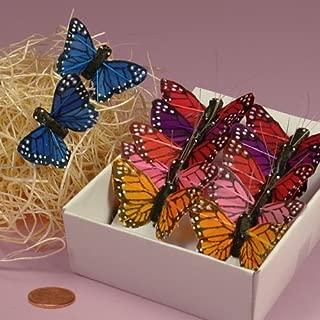 Assorted Monarch Butterflies, 1-1/2