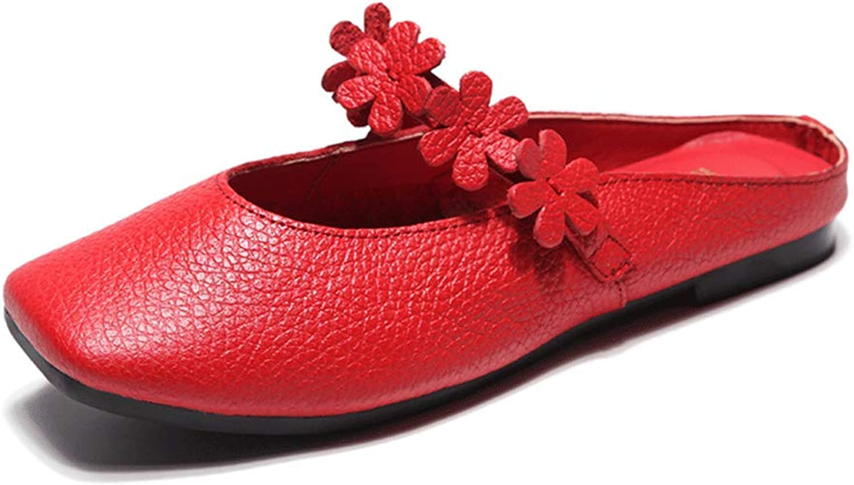 LIURUIJIA shoes Women Fashion Handmade Genuine Leather Loafers PDX-506-09