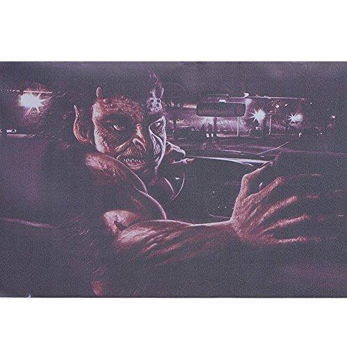 ATMOMO Horror Monster 3D Transparent Car Back Rear Window Decal Vinyl Sticker for Happy Halloween