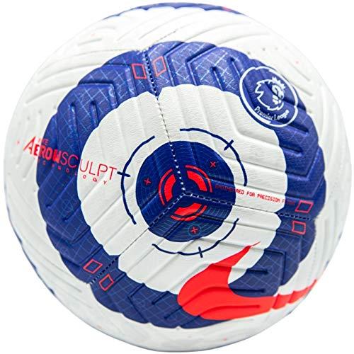 Nike Premier League Strike Ball CQ7150-103; Unisex Soccer Ball; CQ7150-103_5; White; 5 EU (UK)