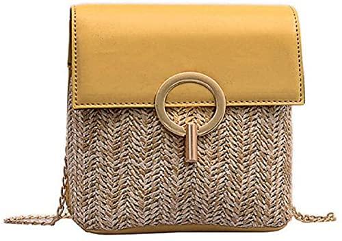 lndytq Bolso bandolera pequeño para mujer, monederos de viaje retro, bolsos de mano, bolso de hombro coreano simple-3-2