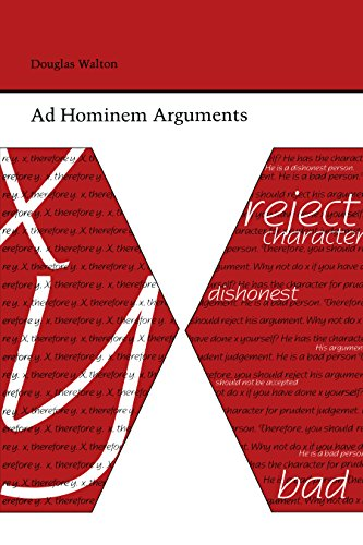 Ad Hominem Arguments (Studies Rhetoric & Communicati) (English Edition)