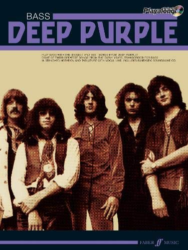 Deep Purple Authentic Bass Playalong: Bass Guitar Songbook (Authentic Playalong)