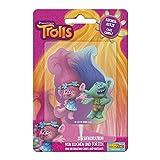 Dekoback Trolls - Vela de cera para tartas, 1 x 6,2 x 9,8 cm, multicolor