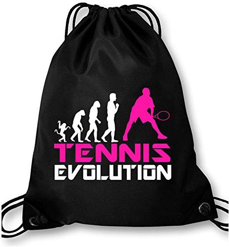 EZYshirt® Tennis Evolution Turnbeutel